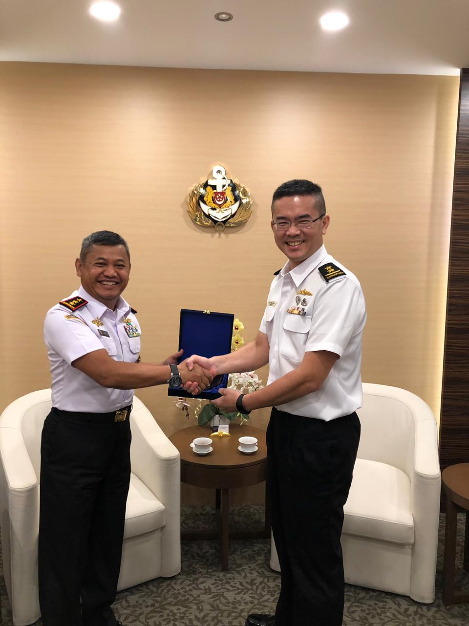 Wujudkan Puskodalopskamla, Kepala Bakamla RI Kunjungan Kerja ke  Singapura