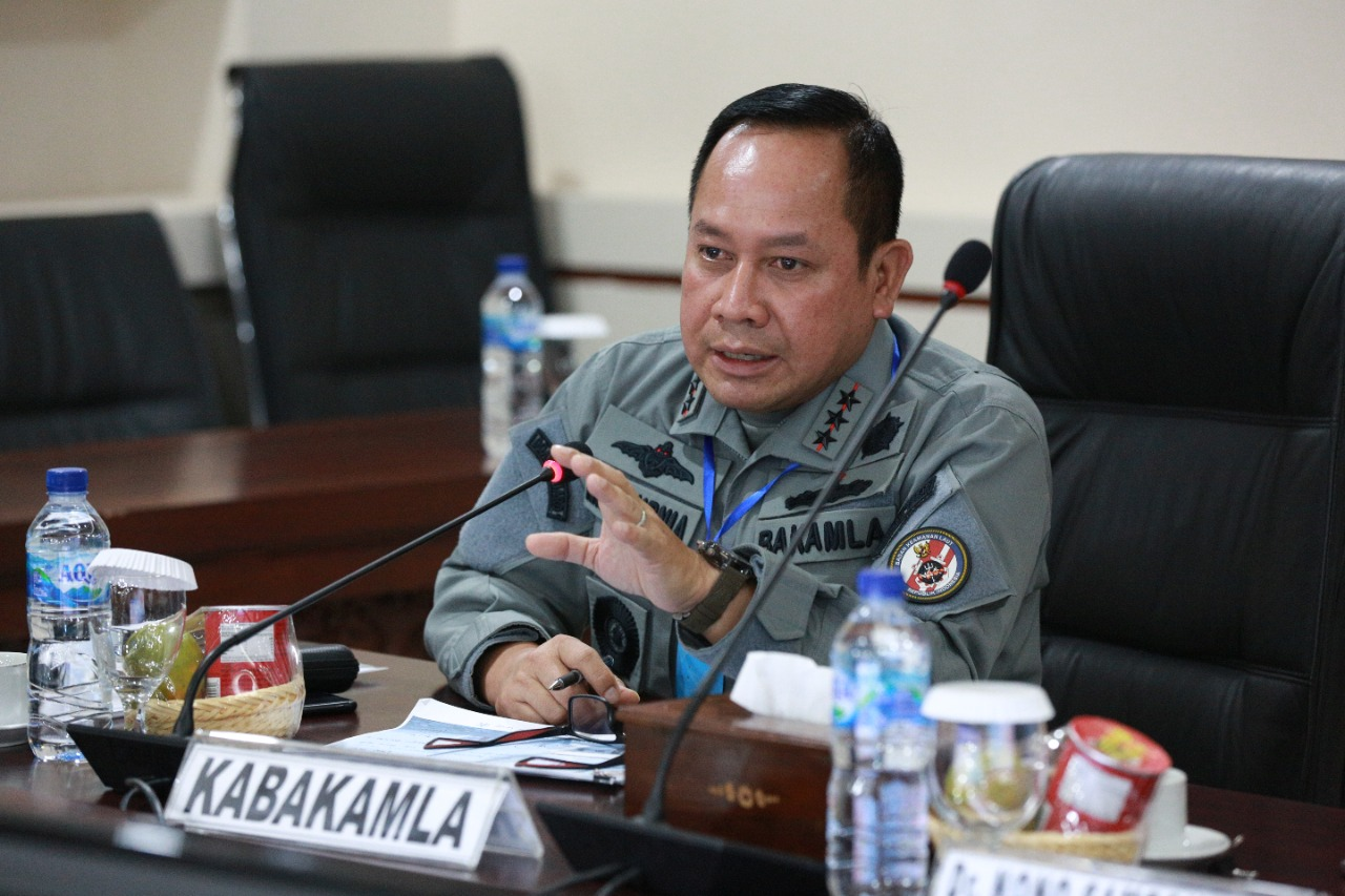 Kepala Bakamla RI: Pola Single Agency Multi Task di Laut Bermanfaat Besar Bagi Negara