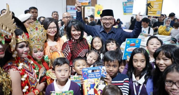 Untuk Pertama Kalinya Bazar Buku Big Bad Wolf 2019 Resmi Dibuka di Bandung