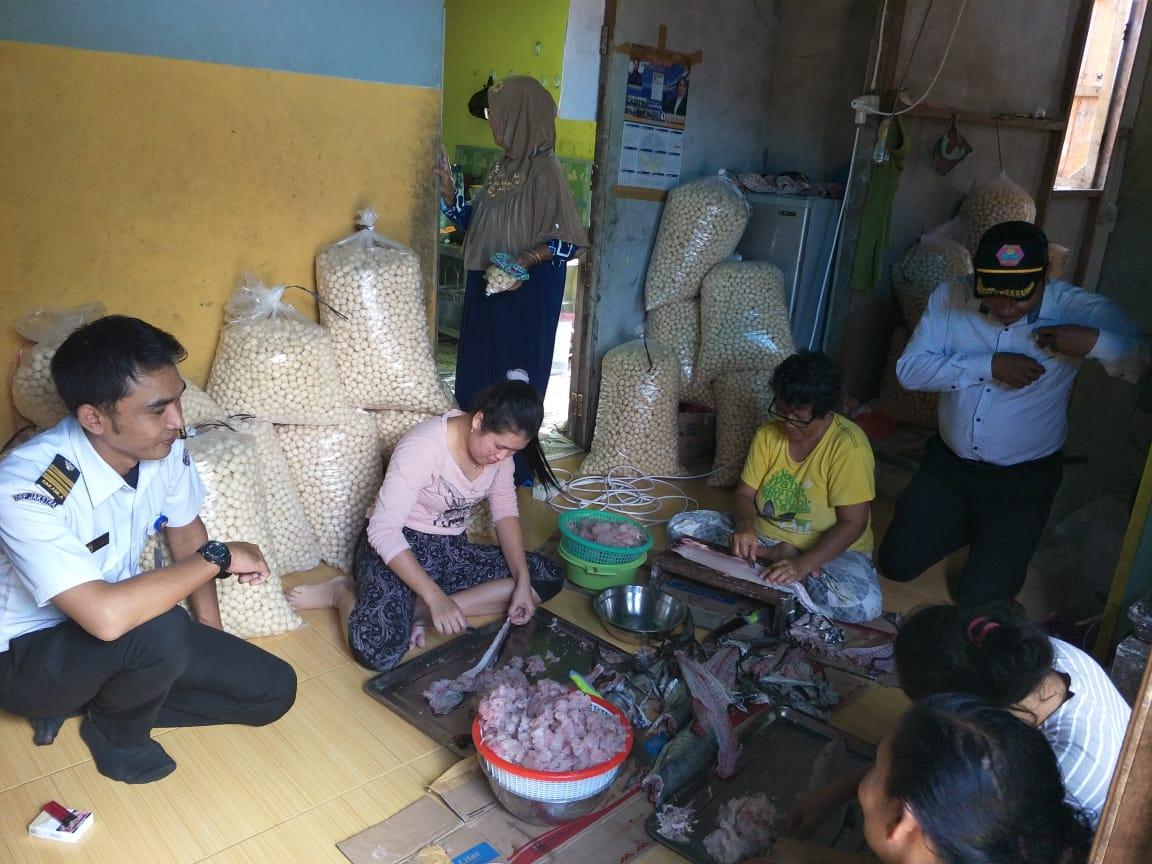 Bakamla Jajaki Kegiatan Lanjutan Desa Maritim Kuala- Sambas