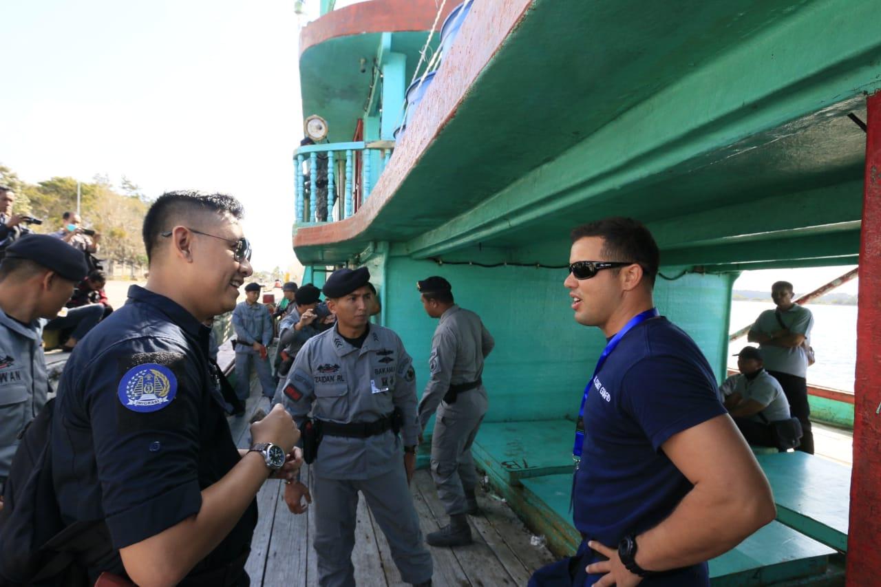 SEAMLEI TEW Berakhir dengan Komitmen Saling Menjaga Keamanan Laut di Asia Tenggara