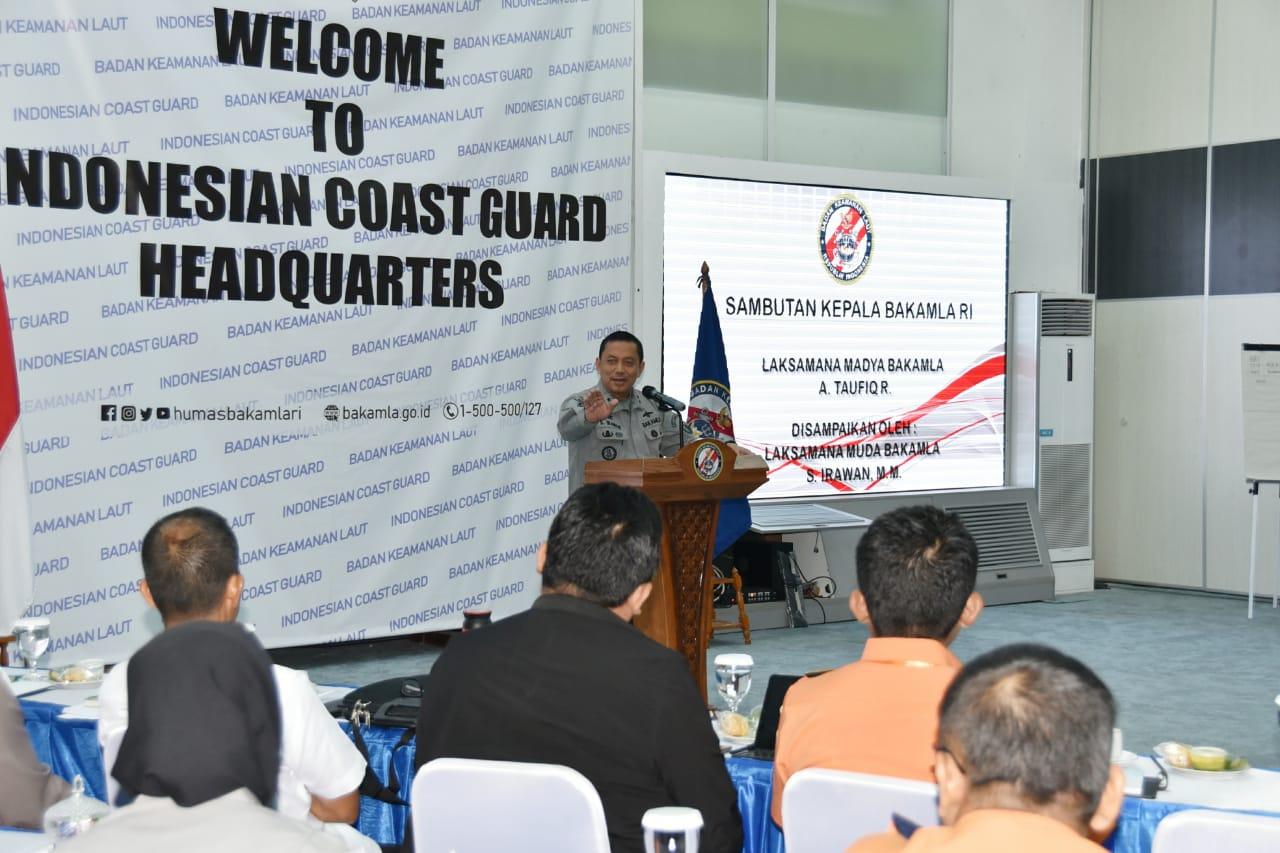 Bakamla RI Ajak Kementerian/Lembaga Bahas Fusion Center Informasi Maritim