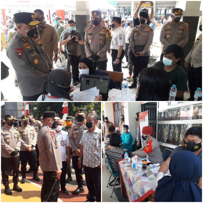 Kapolda Metro Jaya Irjen Pol Fadil Imran Bangun Kolaborasi Dalam Vaksinasi