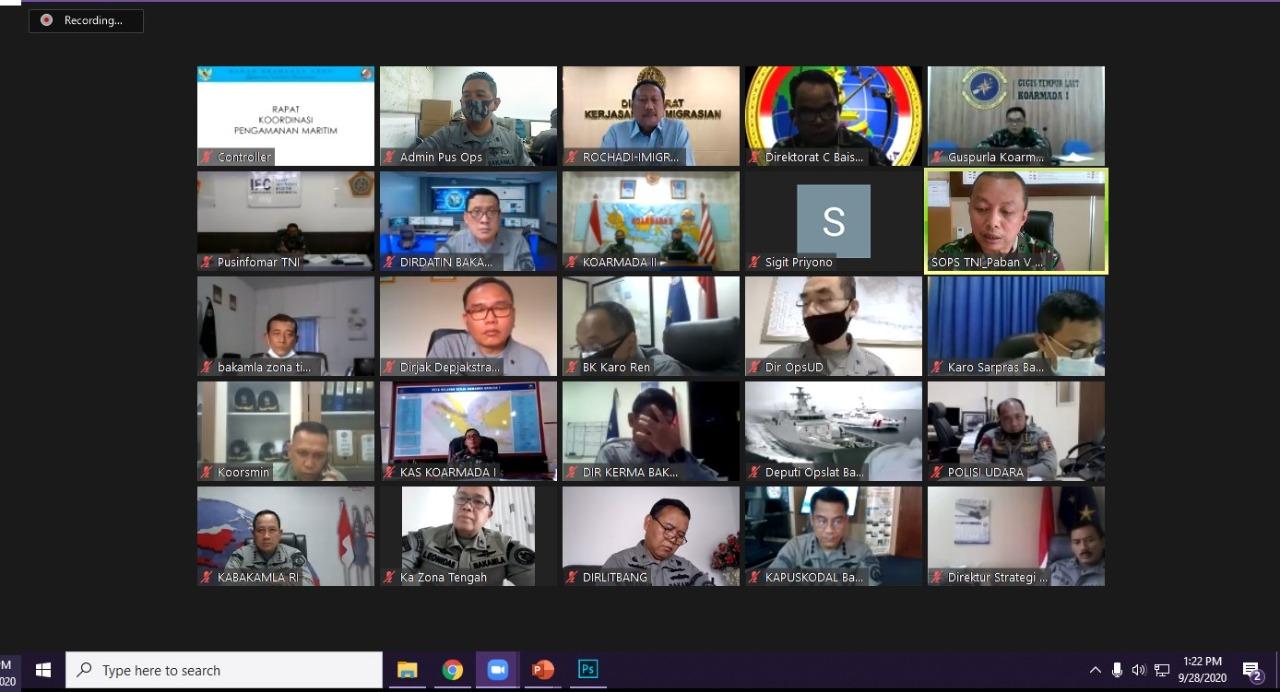 Bakamla RI Inisiasi Rakor Pengamanan Maritim Indonesia