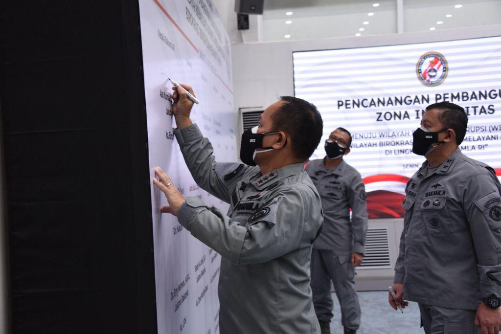 Zona Integritas Bakamla RI Resmi Dicanangkan
