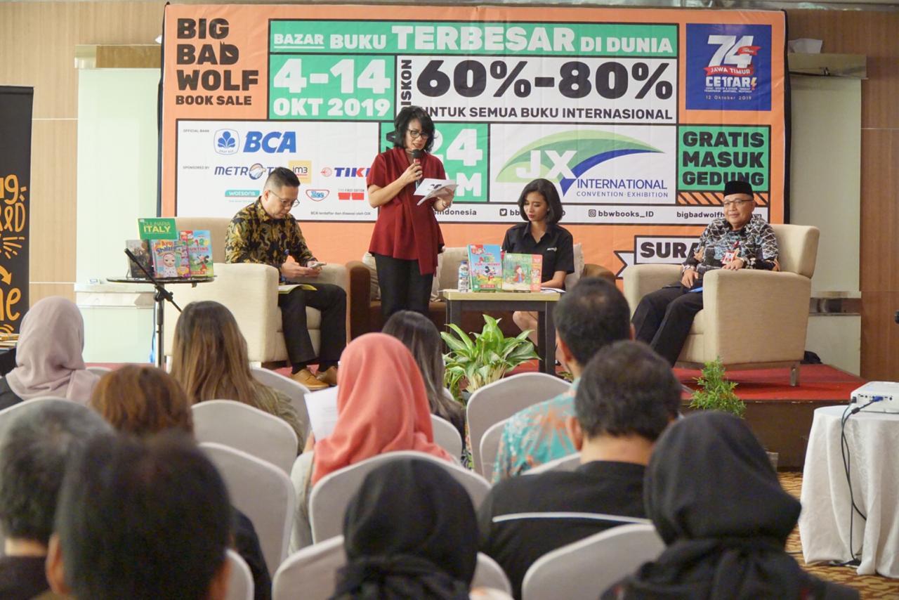 4-14 Oktober Warga Surabaya Bisa Peroleh Buku Berkualitas di Bazar Buku Big Bad Wolf