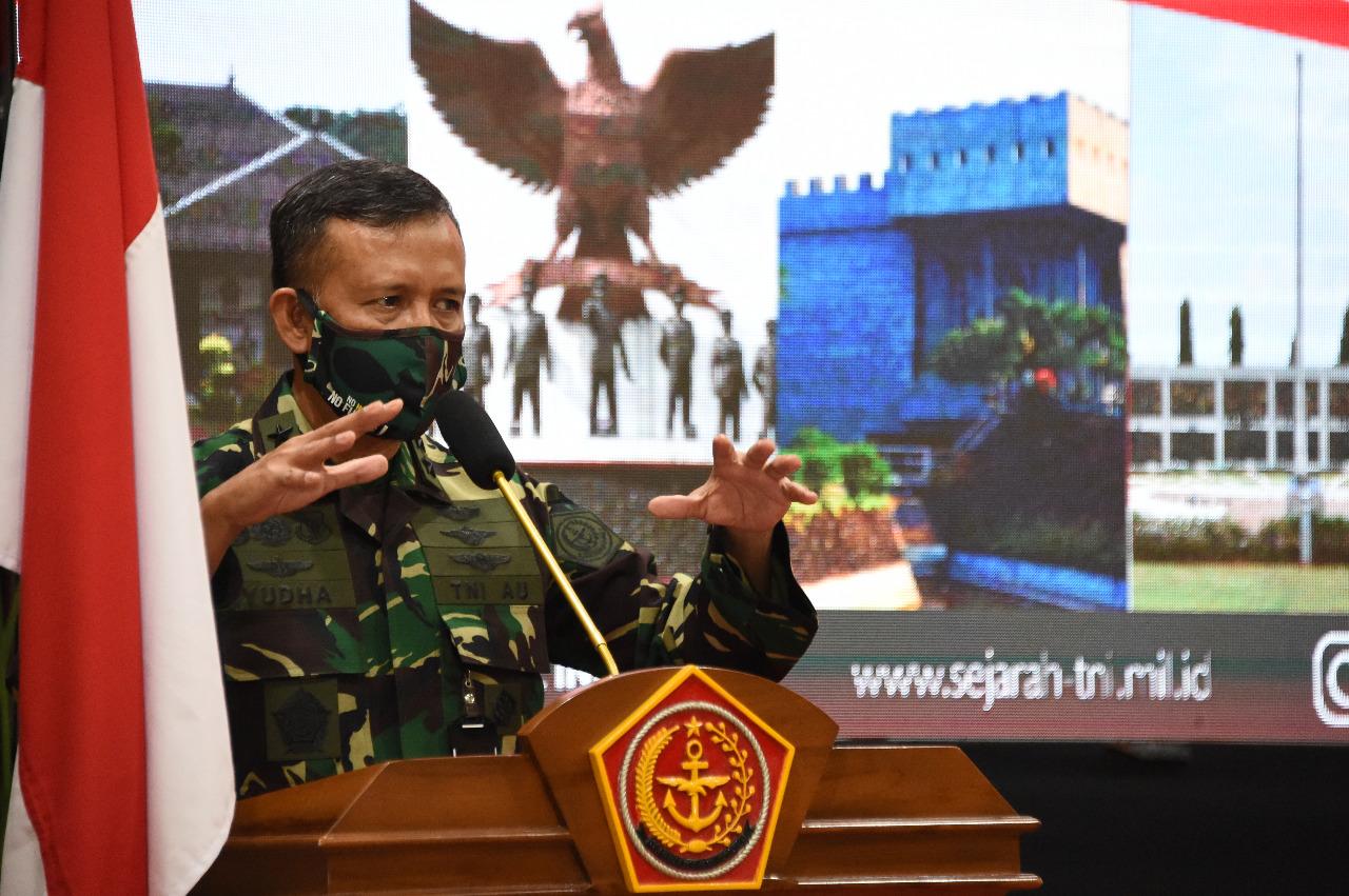 Aspers Panglima TNI Buka Rakornisjarah TNI TA 2020
