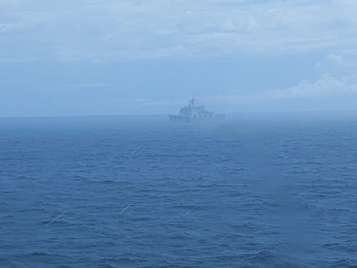 Kapal Coast Guard China keluar ZEEI, Bakamla Intensif Pantau Keamanan Laut Natuna Utara