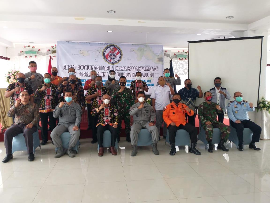 Bakamla RI Gagas Penandatanganan Komitmen Penegak Hukum di Maluku