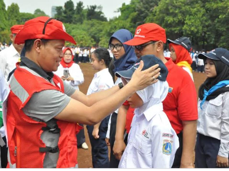 Ikatan Alumni PMR se-Jakarta selatan Dukung Kak ISNAWA ADJI jadi Walikota Jaksel
