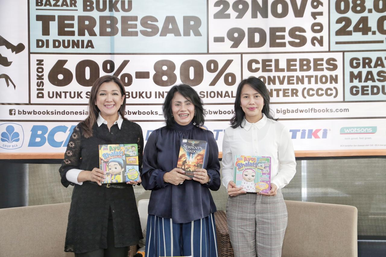 Bazar Buku Terbesar di Dunia Hadir untuk Pertama Kalinya di Makassar Mulai 29 November