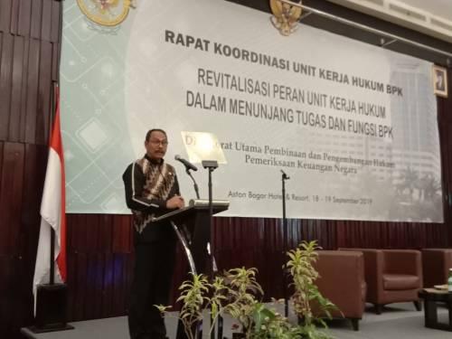 Optimalkan Fungsi Binbangkum, BPK Gelar Rakor Unit Kerja Hukum