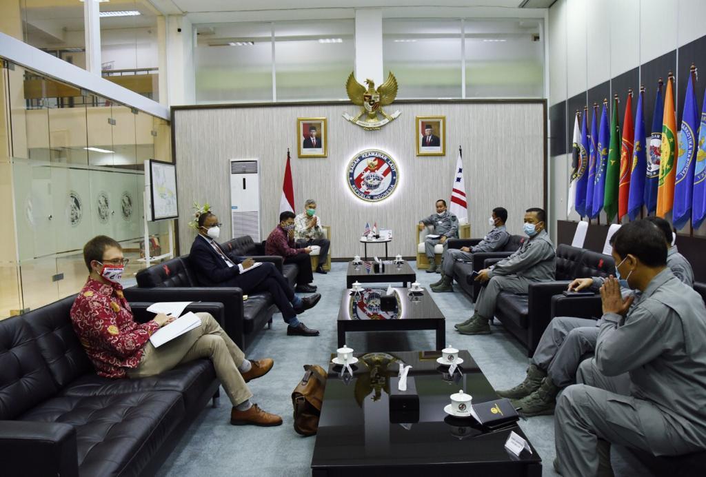 Kepala Bakamla RI Terima Kunjungan Kedubes Amerika Serikat