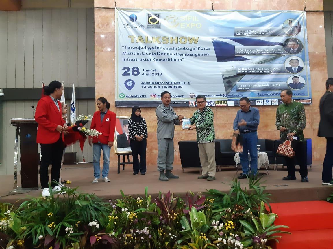 Aksi Bakamla di Seminar Nasional Sipil Expo 2019