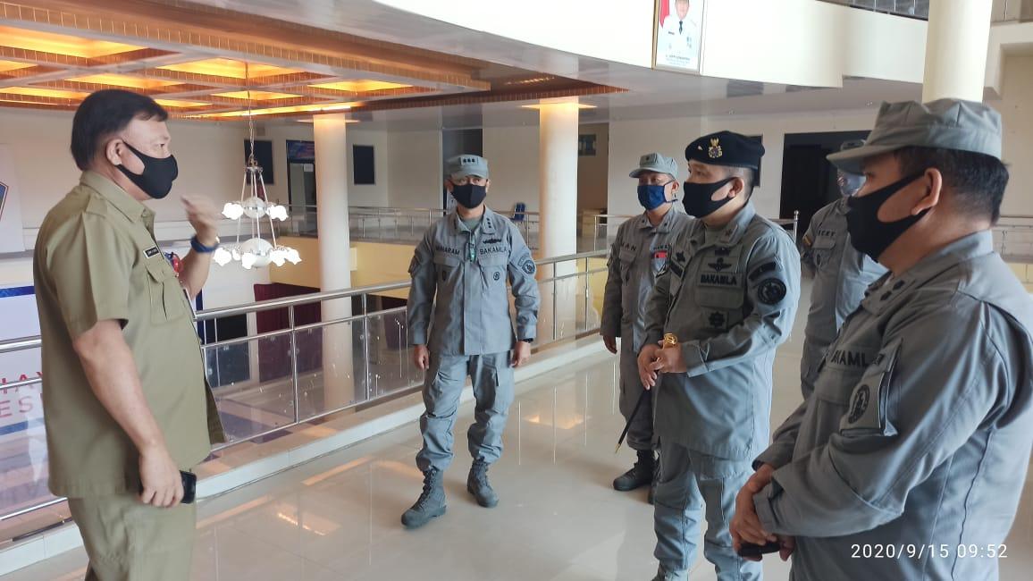 Kamla Zona Tengah Temui Sekda Minahasa Utara Bahas Operasi Cegah Tangkal