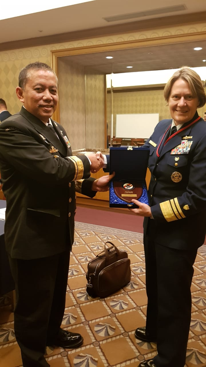 Bakamla RI/IDNCG Hadiri Pertemuan Coast Guard Dunia