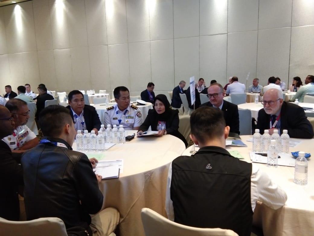 Bakamla RI Berbagi Strategi di Global MDA, Singapura
