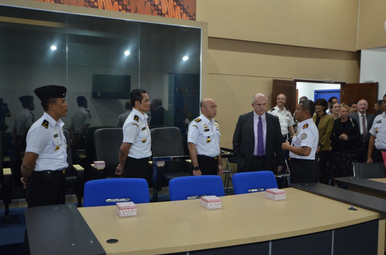 Kepala Bakamla RI Terima Kunjungan Duta Besar AS