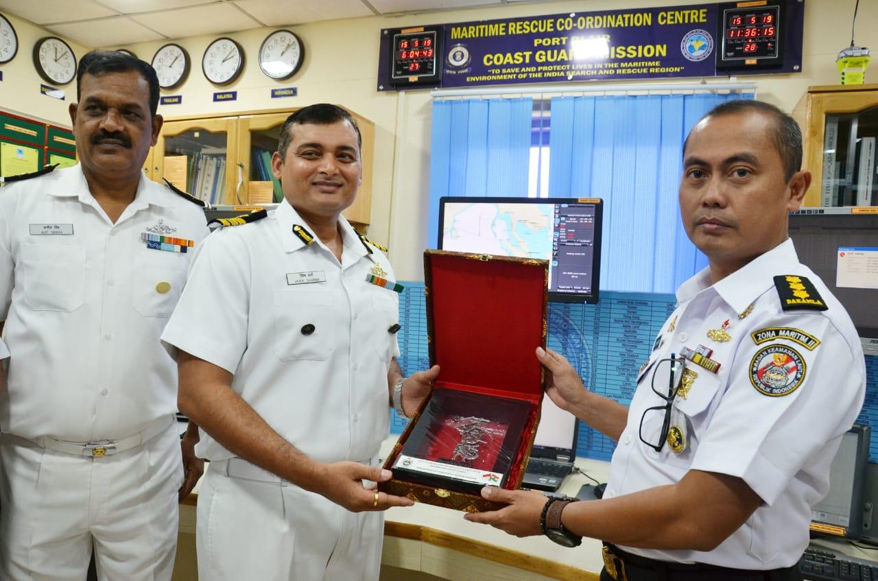 Delegasi Bakamla Berkunjung Ke ROC dan MRCC Indian Coast Guard