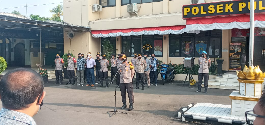 Antisipasi Demo Penolakan PPKM Level IV, Kapolres Jaktim Minta Utamakan Keselamatan Masyarakat