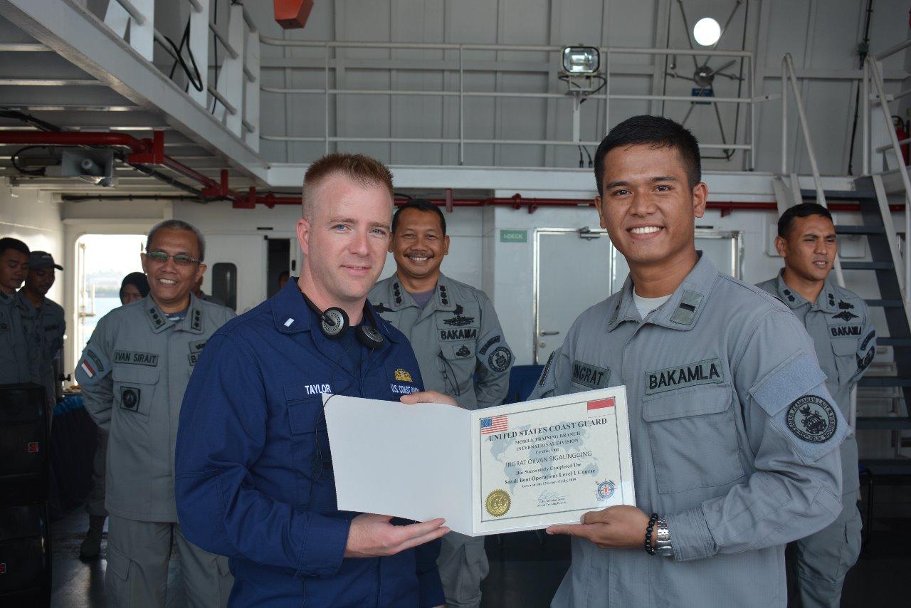 Latihan SBO II IDNCG - USCG Resmi Ditutup