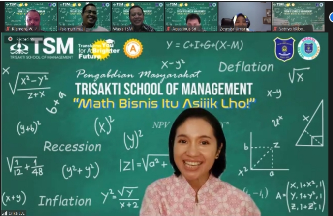 TSM Gelar Pengabdian Masyarakat, Ajak Siswa SMA Muhammadiyah 25 Pamulang Gemar Belajar Matematika