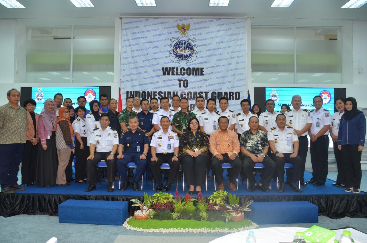 Bakamla RI Bahas Batas ZEE Indonesia - Vietnam