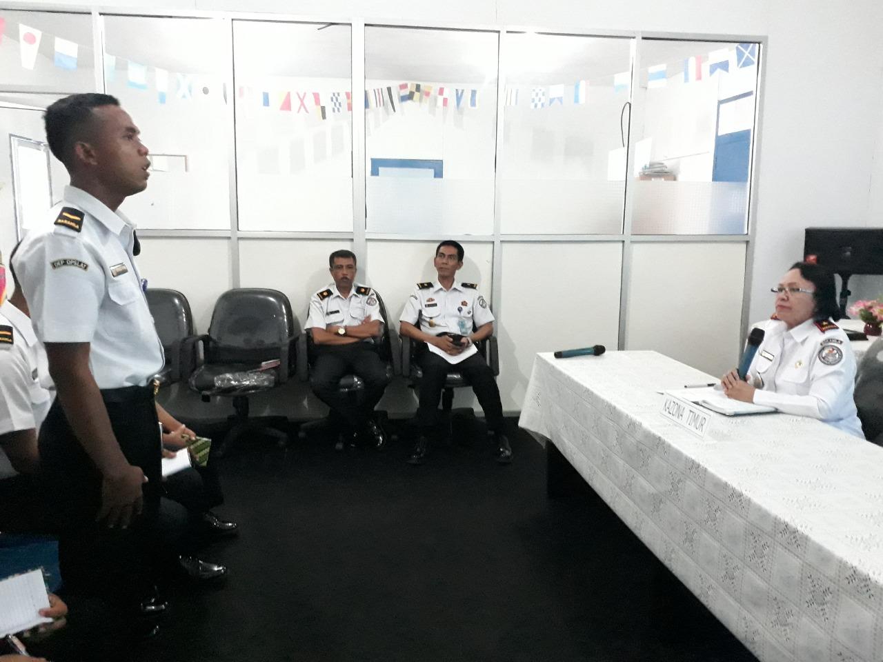 Personil Baru ICG Ronda di Kantor Zona Kamla Timur
