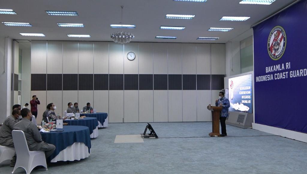 Silaturahmi Dengan Wakil Ketua DPR RI, Bakamla RI Tunjukkan Komitmen
