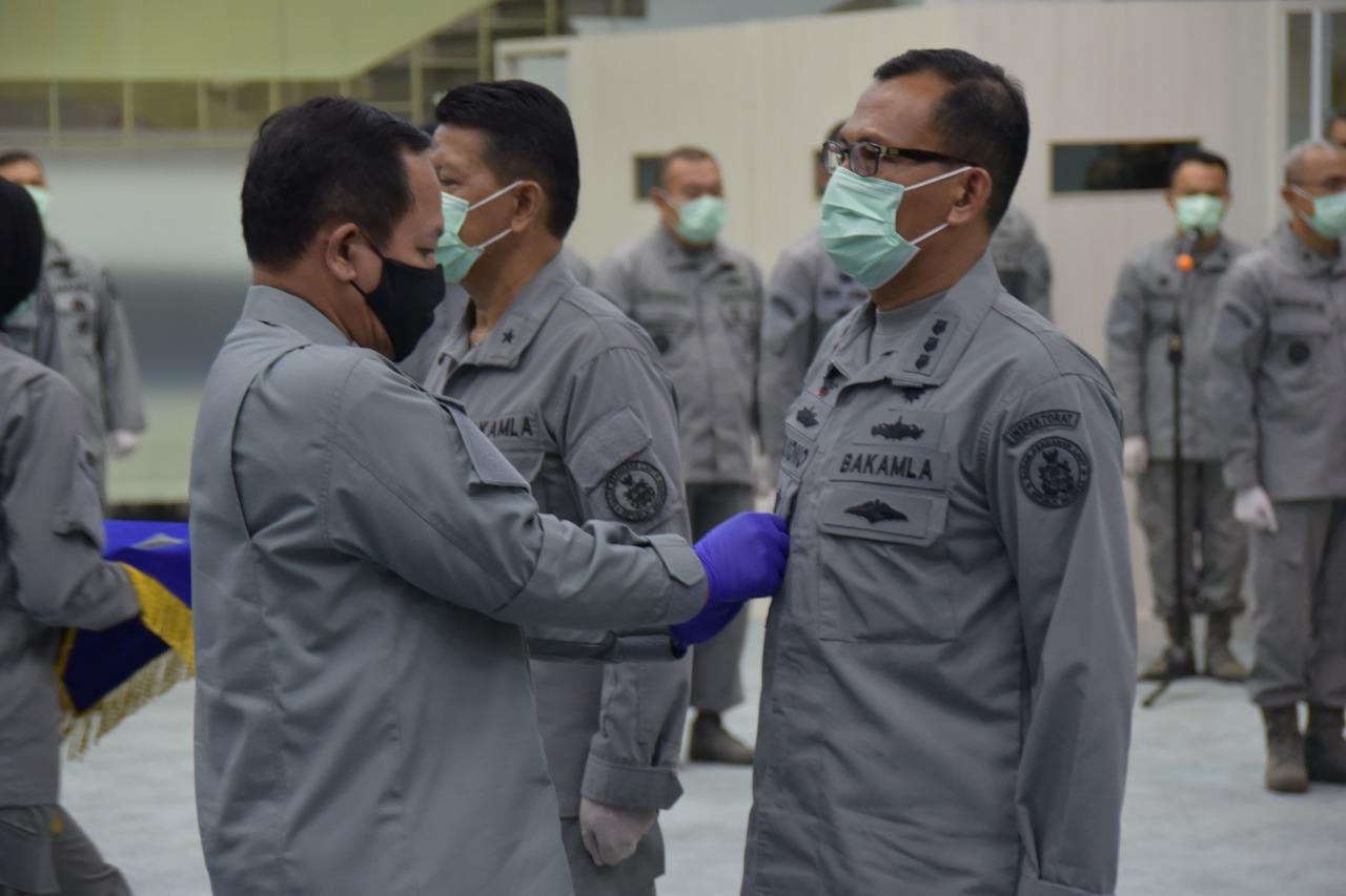 Kepala Bakamla RI Lantik Kolonel Laut (S) Mulyono Sebagai Inspektur Bakamla RI