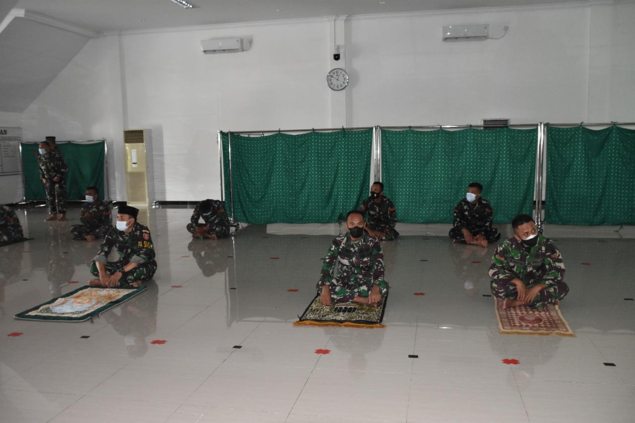 Korem 091/ASN Gelar Doa bersama jelang Latihan bersama Garuda Shield Ke-15 Tahun 2021