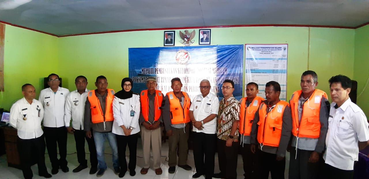 Wakil Bupati Belu Dukung Bakamla Ajak Masyarakat  Berbuat Benar di Laut