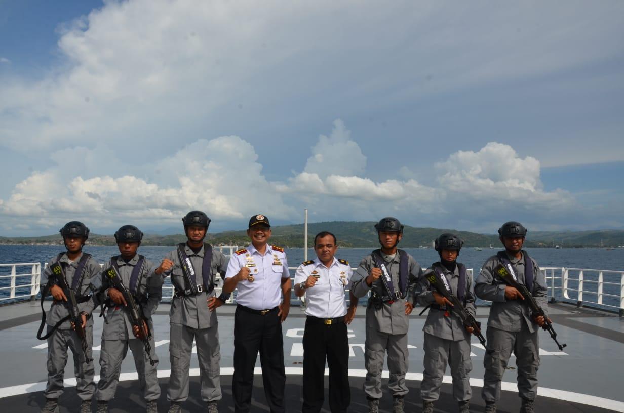 ABK KN Tanjung Datu 301 Latihan VBSS