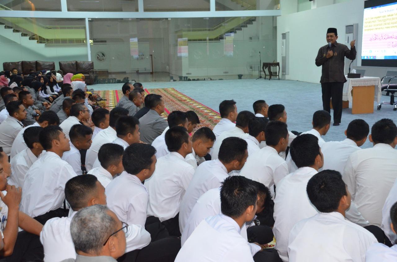Isi Ramadhan, Bakamla  Tingkatkan Bina Mental Personel