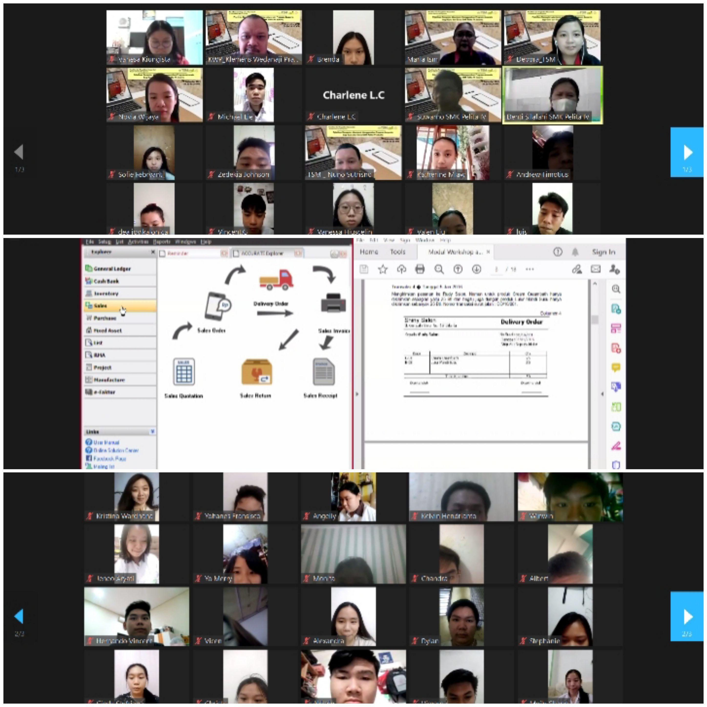 Guru dan Siswa SMK Pelita IV, Ikuti Pelatihan Software Accurate Dari TSM