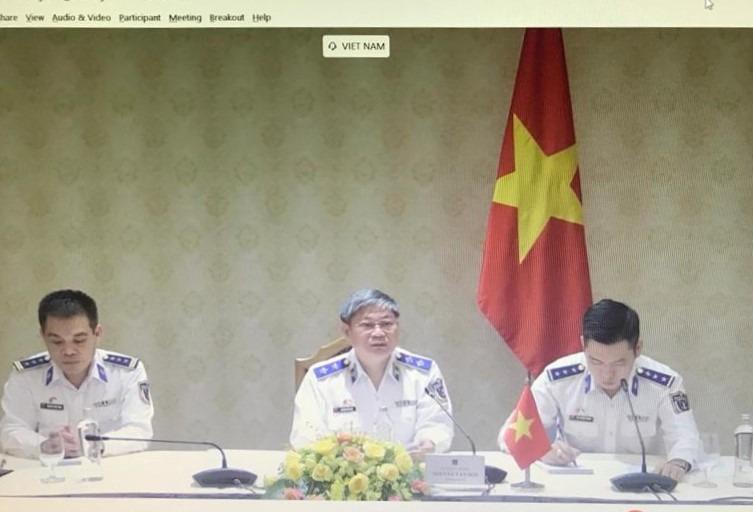 Bakamla RI dan Vietnam Coast Guard Bahas Kerja Sama Melalui Komunikasi Vidcon