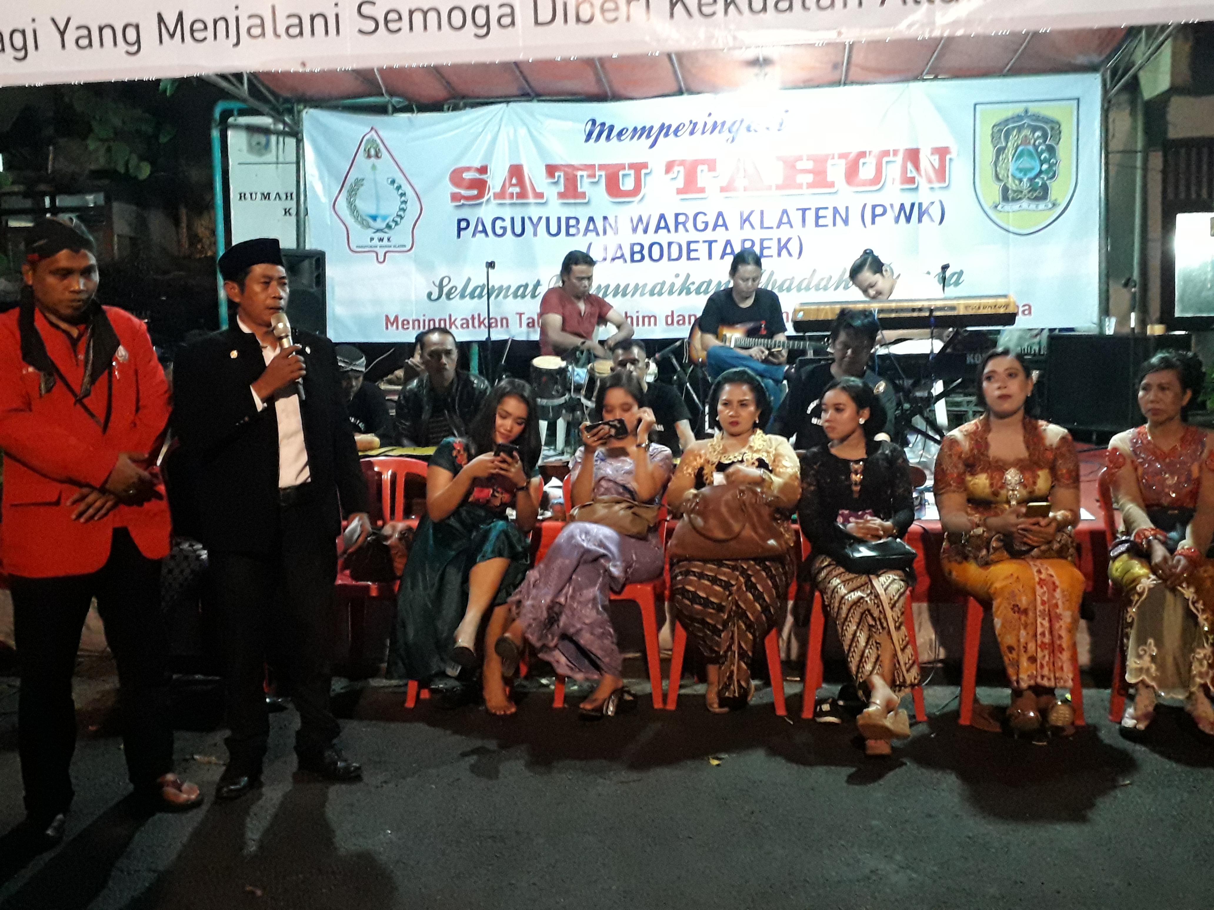 Peringatan 1 Tahun Paguyuban Warga Klaten, Sarana Pelestarian Budaya Tradisi