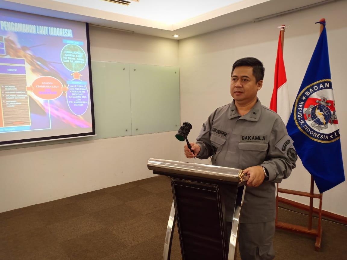 Bahas Blue Print Kebijakan Pengamanan Laut Indonesia, Bakamla Gelar FGD di Surabaya