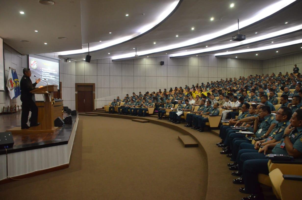 Kuliah Umum di Seskoal, Kepala Bakamla Jelaskan Tusi Indonesian Coast Guard