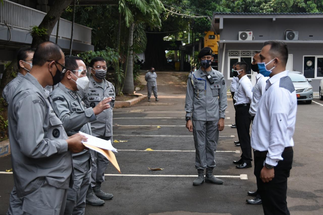 Kepala Bakamla RI Pimpin Pelaksanaan Pantukhir CPNS Bakamla 2019