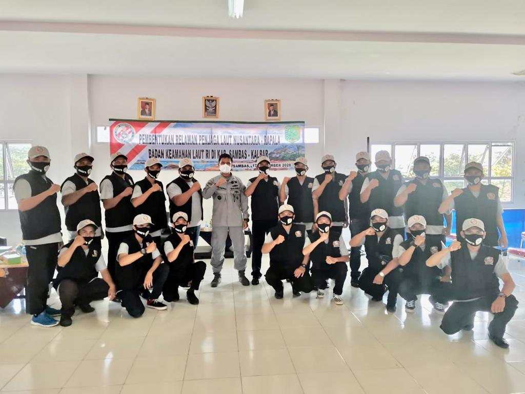 Bakamla RI Kukuhkan 20 Rapala di Kabupaten Sambas