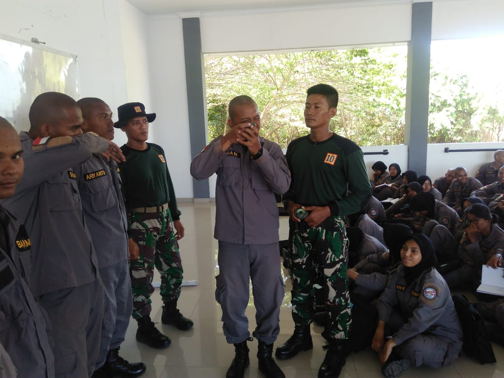 CALON PERSONEL INDONESIAN COAST GUARD TIMBA ILMU IMMP