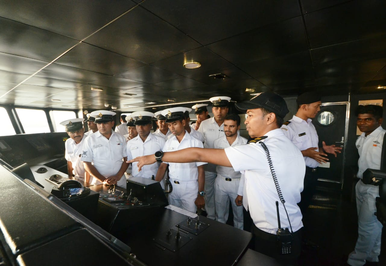 KN Tanjung Datu-301 Open Ship di India