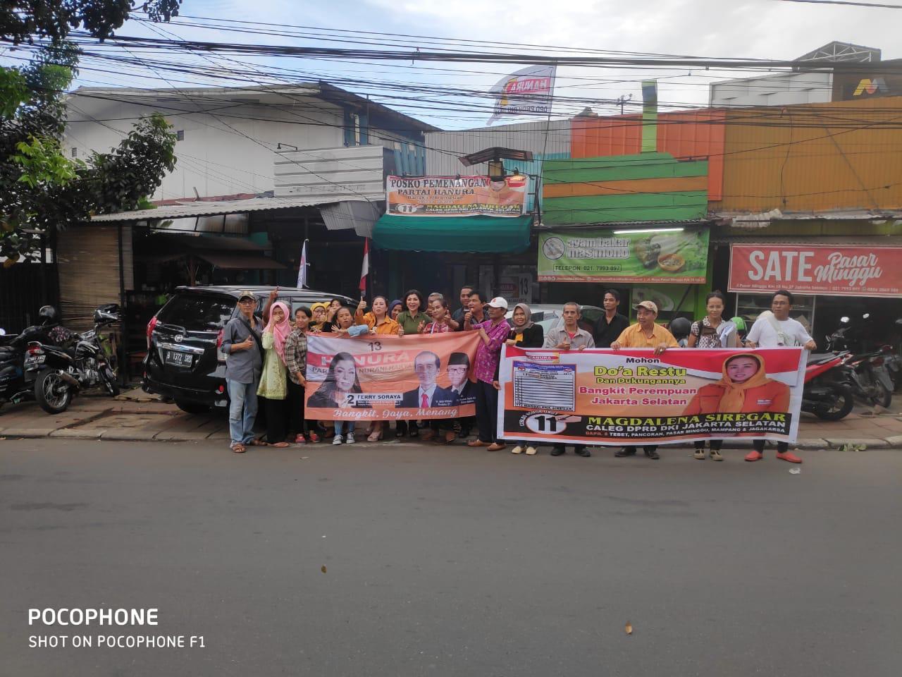 Ferry Soraya: Kader Partai Hanura Harus Sinergitas Dalam Meraih Suara