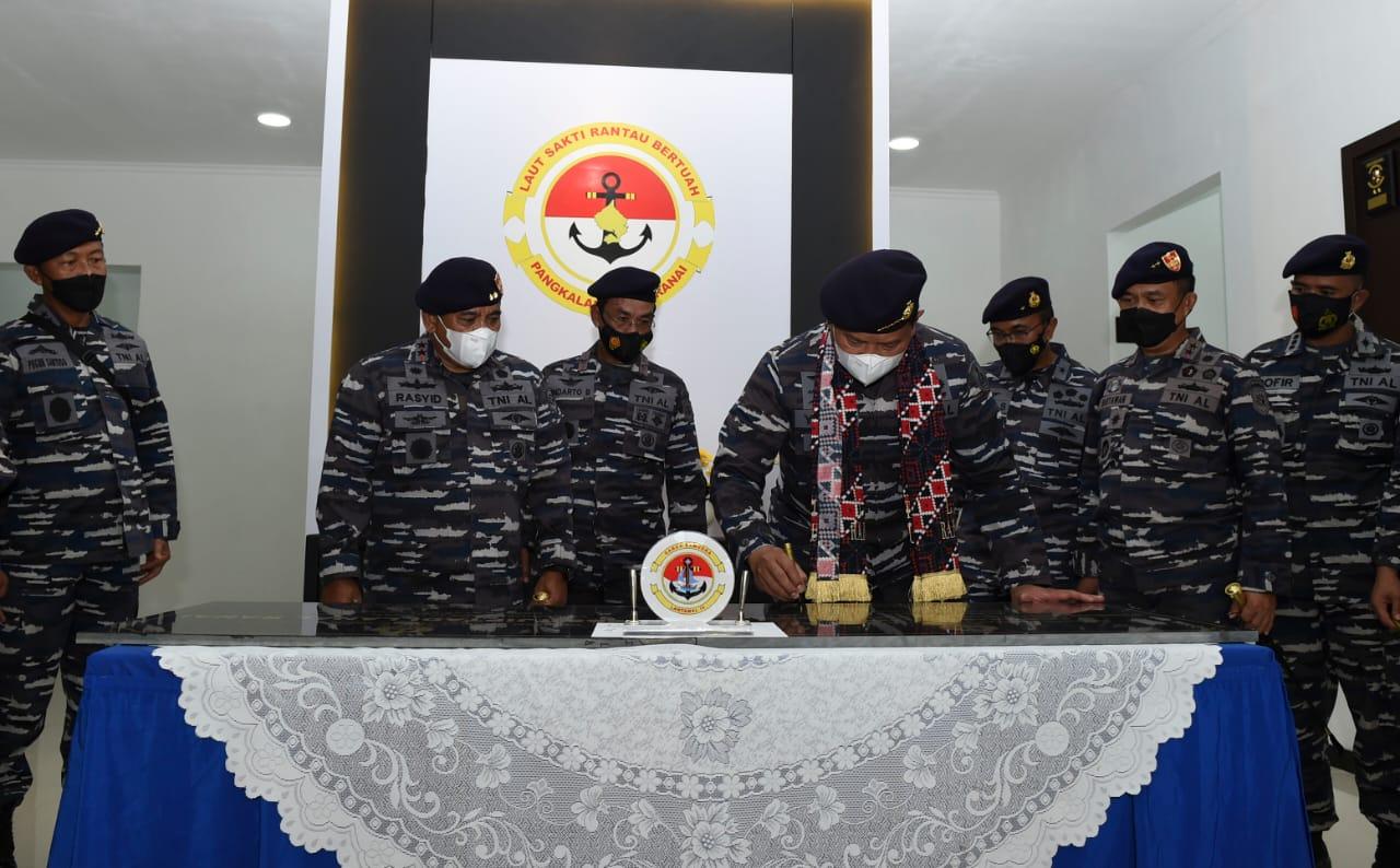 Kasal : Peningkatan Sarpras Pendukung Tugas Operasi, Prioritas Menuju TNI AL yang Profesional