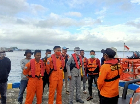 SPKKL Tual Cari Korban Diduga Jatuh dari Longboat di Perairan Pulau Waratneo