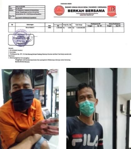 Diduga Gelapkan 470 Ton Beras, Polisi Bekuk 2 Pimpinan Bumdes Mekarmaya Cilamaya Wetan Karawang