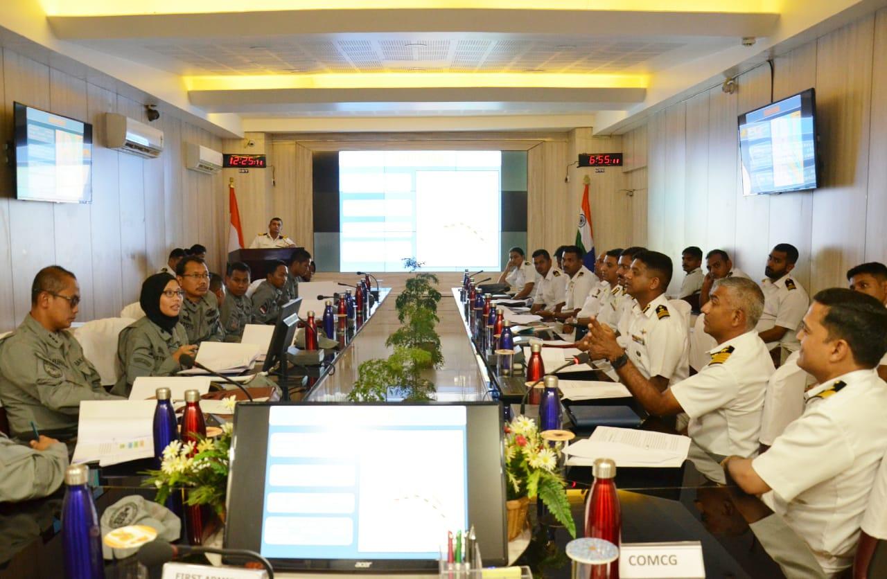 Bakamla Bahas Table Top Exersice Hadapi Ancaman Perompakan Bersama ICG