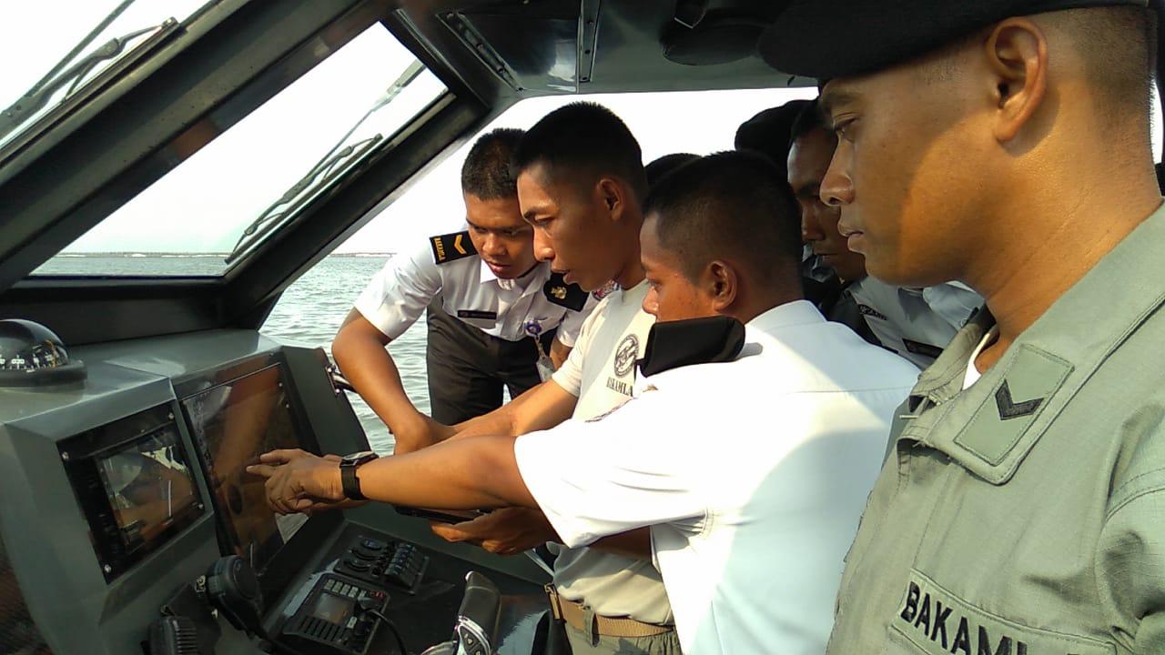 GENERASI BARU INDONESIA COAST GUARD SIAP EMBAN TUGAS OPERASI LAUT