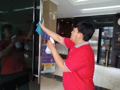 Cegah Covid-19, Sunbreeze Hotel Tingkatkan Kebersihan